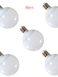 5pcs 12W E27 30XSMD5630 1200LM LED Globe Bulbs(220V)