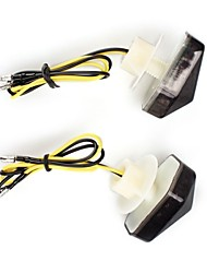 Motorcycle 12 LEDs Rear Turn Signal Blinker Indicator Light Lamp for Kawasaki  (2 Pcs)