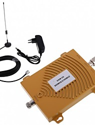 New GSM WCDMA 900/2100MHz Dual Band Cell Phone Signal Booster Repeater Antenna Kit