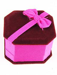 6 * 5 * caixas de jóias anel de quatro centímetros