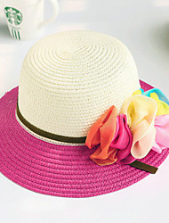 Children's Fashion Spell Color Flower Princess Hat Sunscreen Floppy Hat
