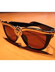 Sunglasses Unisex's Classic / Modern / Fashion Hiking Black Sunglasses Full-Rim