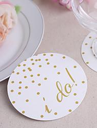 I DO Paper Coasters (set of 12)