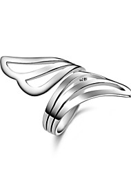 Fine Jewelry New Wing Charms 925 Sterling Silver Jewelry Europe &America Wedding Ring for Men&Women ,Wild Fashion