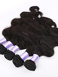 "3pcs / lot 8 ""-34"" virgen del cuerpo del pelo trama del pelo de la onda 100g / pc extensión peruana onda del cuerpo peruano del pelo"