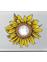 Sunflower Decorative Skin Sticker for MacBook Air/Pro/Pro with Retina Display