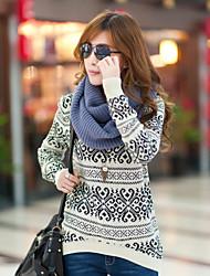 Suéteres ( Algodón )- Casual Manga Larga