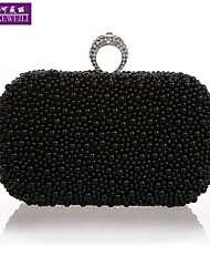 AIKEWEILI®Women's Evening Bag Fashion Luxury Beads Bride Bag Casual All-Match Clutch Bag