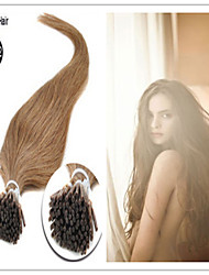 Remy Keratin Fusion Hair extensions/I tip Hair Extension Stock All Color Optional