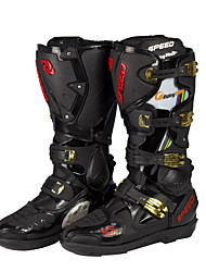 Riding Tribe Motorcycle Riding Boots Racing Boots Cycling/Trail Running Men's Shoes  Black/White