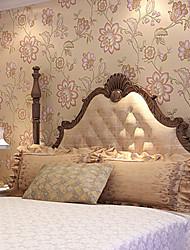 novo arco-íris ™ retro wallpaper art deco americano pastoral parede flores grandes cobrindo a arte de não-tecidos da parede da tela