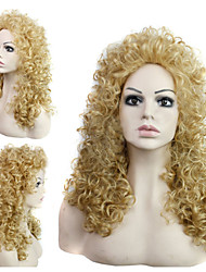 In Europe And The United States Fashion Style Ladies Hair Curly Hair Wig M27-613#