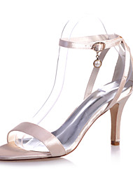 Women's Shoes Satin Stiletto Heel Open Toe Sandals Wedding/Party & Evening Shoes More Colors available