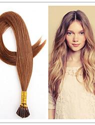 extensiones rectas pelo stick queratina Me quito el pelo 1g / s 100s / pack 1b # extensiones de cabello natural pre unidos