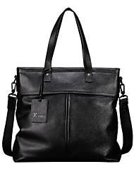 primera capa de cuero bolsa de negocios bolsas de un solo hombro de alta calidad de diseño de los hombres maletines los hombres de moda
