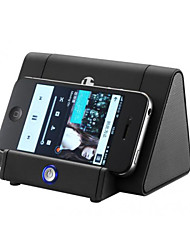 Details about  Induction Speaker Amplifies Audio Sound Box for HTC Samsung iPhone iPod Black