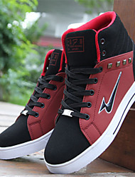 Skateboarding Men's Shoes  Black/Red/White