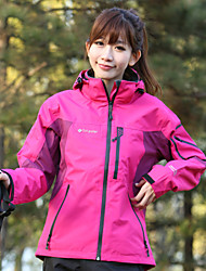 Tripolar Waterproof and windproof warm large size jackets female three in one set of two pieces of cashmere FA2005X