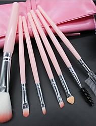 7 Pieces Super Soft Dense Make Up Brush Amazing Complete Kit(Random Color)