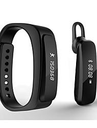 """actividade desportiva rastreador relógio inteligente x2 0,91 """"oled Bluetooth wearable pulseira pulseira bluetooth4.0 Android / iOS"""