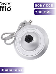 700TVL SONY CCD COLOR Mini Camera UFO Camera 2.8mm Wide Angle Indoor CCTV Security Camera for Metal Case