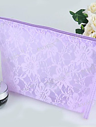Women PVC Formal / Professioanl Use Cosmetic Bag - White / Pink / Purple / Blue / Yellow / Red
