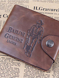 Hot Luxury Fashion Men's PU Wallet Cowboy Hasp Money Clips Purse Wallet Man Male Top Quality