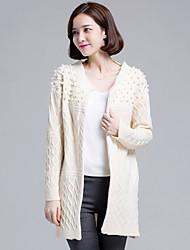 Women's Casual Loose Beaded Long Sleeve Cardigan(More Colors)