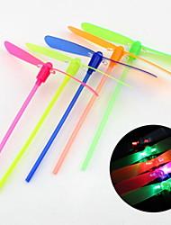 Les jouets lumière du jour bambou libellule flash de l'enfant (couleur aléatoire)