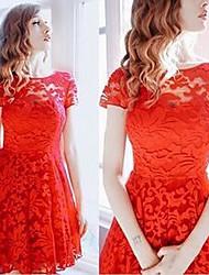 KuGoWomen's Dresses , Lace Sexy/Casual KuGo