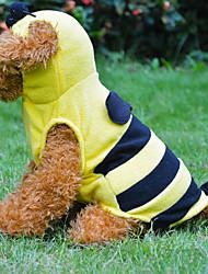 Hoodies / T-shirt voor honden Geel Lente/Herfst S / M / L / XL Katoen / Fleece