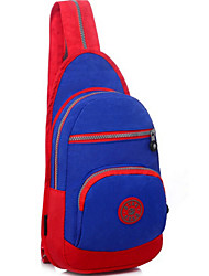 Men Canvas Casual / Outdoor Shoulder Bag - Purple / Blue / Yellow