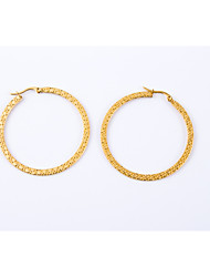 Women's Classic Gold Plated Earrings