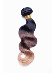 Smilco Hair 1T27 Ombre  Brazilian Remy Human Hair body wave weaves wavy extensions machine weft 3 bundles