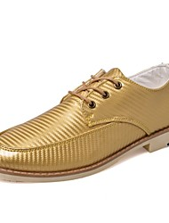 Men's Shoes Casual  Oxfords Black/White/Gold