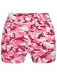 Jijile Kids Summer girls' s casual Camo shorts 2015 summer girl short pants