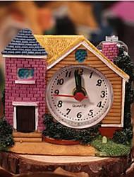 Китайский стиль вилл антикварные часы случайный цвет