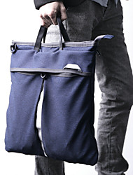 МУЖСКИЕ холст Messenger плеча мешок / ноутбук сумка - синий