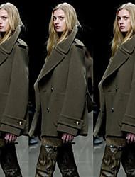 Qina Woman'S New Winter Woolen Coat