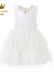 Girl White Tulle Baptism and Christening Dresses