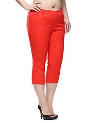 Prettyshow 2015 women new autumn large size XL-6XL casual skinny and slimming fashion pants QA3QK0235