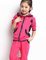 Girl's Fashion Sports Clothing Set , Winter/Fall