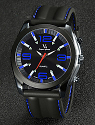 Men's Watch Dress Watch Fashion Silicone Strap