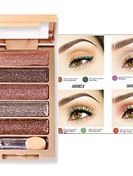 5 Color Shimmer Eye Shadow No.1-6(Assorted Colors)