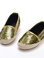 Baby Shoes Casual   Loafers Red/Silver/Gold