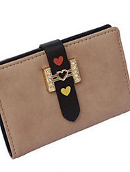 Women 's PU Casual Card & ID Holder