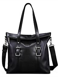 tela oxford de cuero genuino diseño único negro de negocio original, maletines bolsas messenger solo hombro