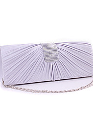 Women Silk Formal / Event/Party / Wedding / Office & Career Evening Bag Beige / Gold / Red / Silver / Black