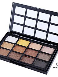 12 mate paleta de maquillaje sombra de ojos color de sombra de ojos (4 colores seleccionables)