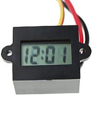 Digital Motorbike Clock Motorcycle Mount LCD Clock
